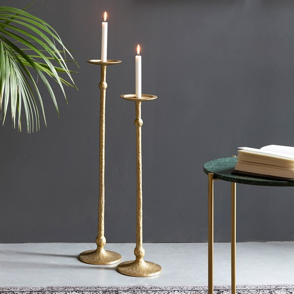 Mana Gold Candle Holder