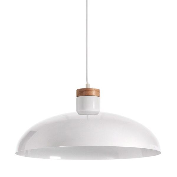 Margot Pendant Light in White by La Forma