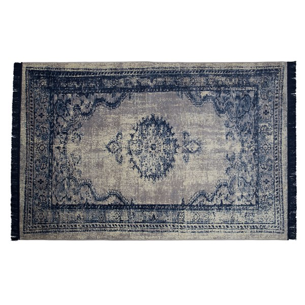 Marvel Persian Style Rug in Neptune Blue