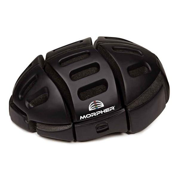 Morpher Folding Cycle Helmet in Matt Black