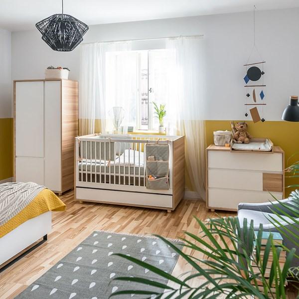 Vox Evolve Cot Bed 3 Piece Nursery Furniture Set