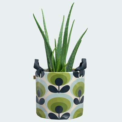 Green Flower Oval Stem Print Orla Kiely Trowel