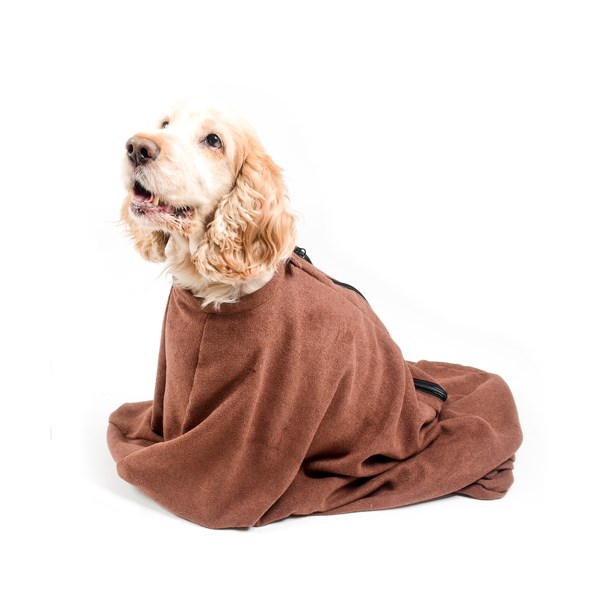 Microfibre Doggy Bag in Medium Size
