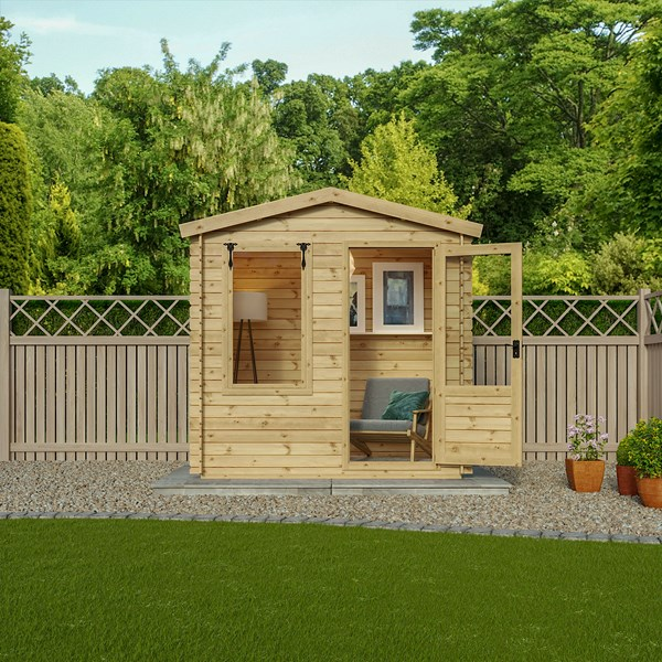 Studio Log Cabin by Mercia