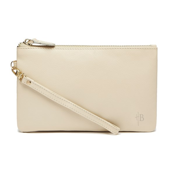Mighty Purse in Cream Cow Leather