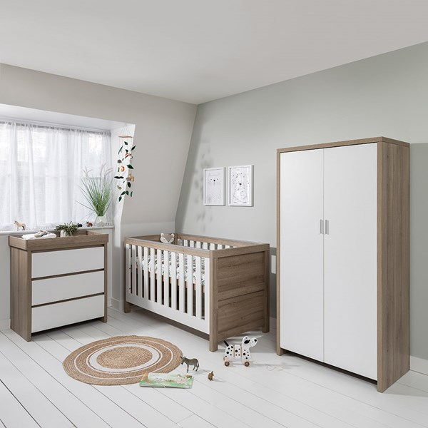 Tutti Bambini Modena Cot Bed 3 Piece Nursery Set