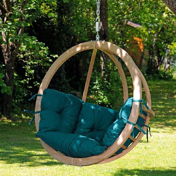 Globo Hanging Chair in Green