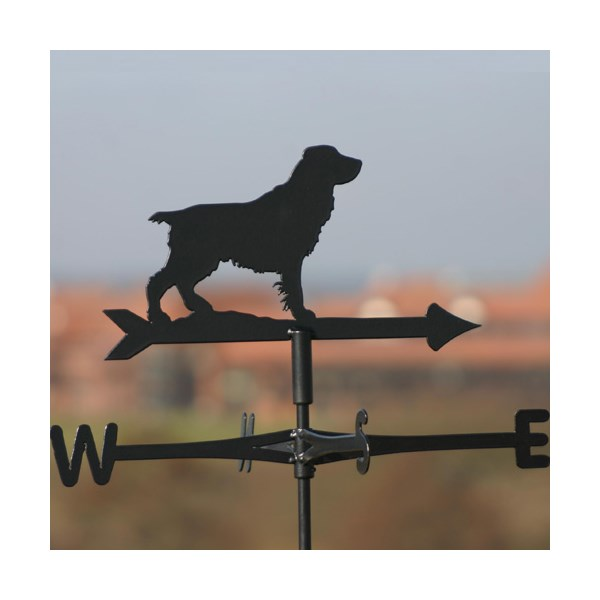 Field Spaniel Weathervane