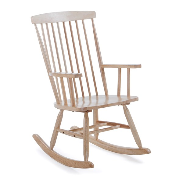 Terence Rocking Chair in Natural by La Forma