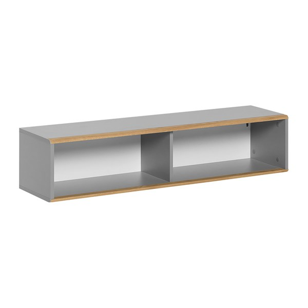 Nature Wall Shelf in Grey & Oak