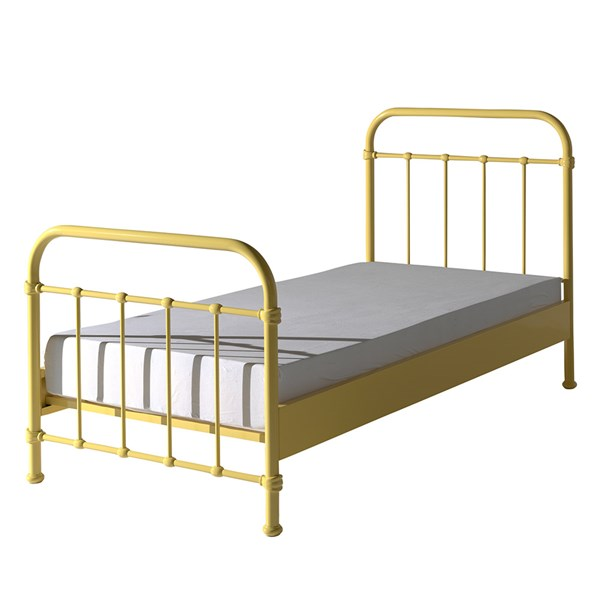 New York Metal Kids Bed in Yellow