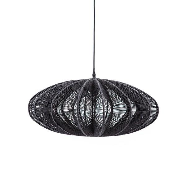 Black Rope Pendant Ceiling Light