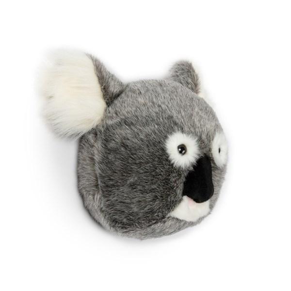 Noah the Koala Kids Plush Animal Head Wall Decor