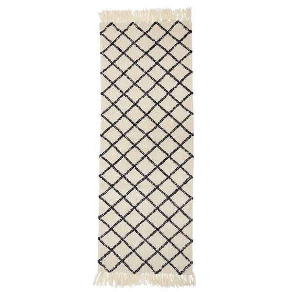 Bloomingville Natural Wool Rug
