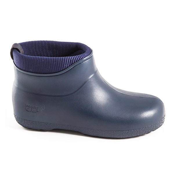 Nordic Grip Wets Boots in Navy Blue with IceLock Technology