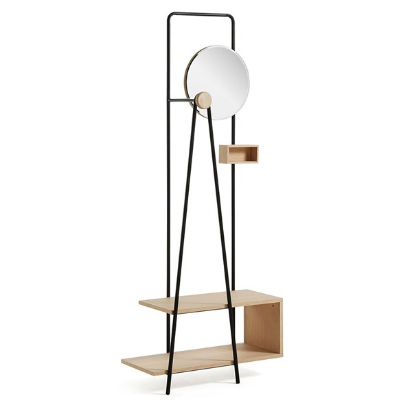 Nostalgic Coat Stand with Mirror