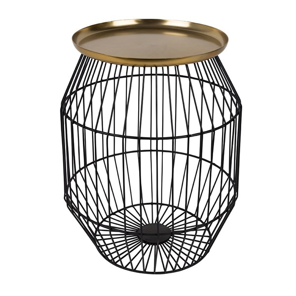 Nout Brass Plated Side Table