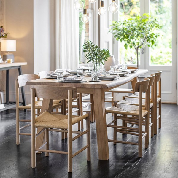 Garden Trading Oakridge Dining Set with Longworth Chairs