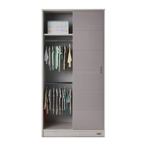 Obaby Madrid Nursery Double Wardrobe