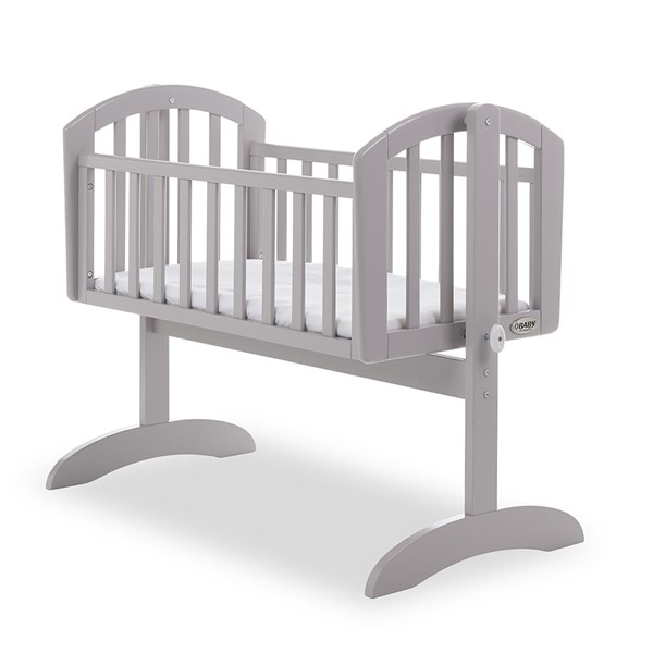 Obaby Sophie Swinging Crib in Warm Grey
