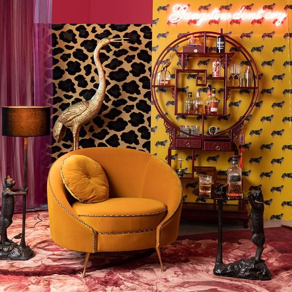 Luxury Velvet Snug Chair