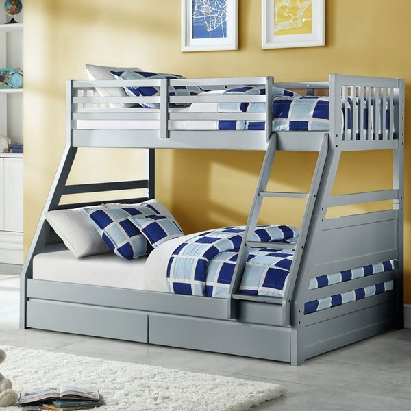 Ollie Triple Bunk Bed by Flair Furnishings