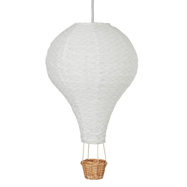 Cam Cam Copenhagen Hot Air Balloon Lamp in Grey Wave