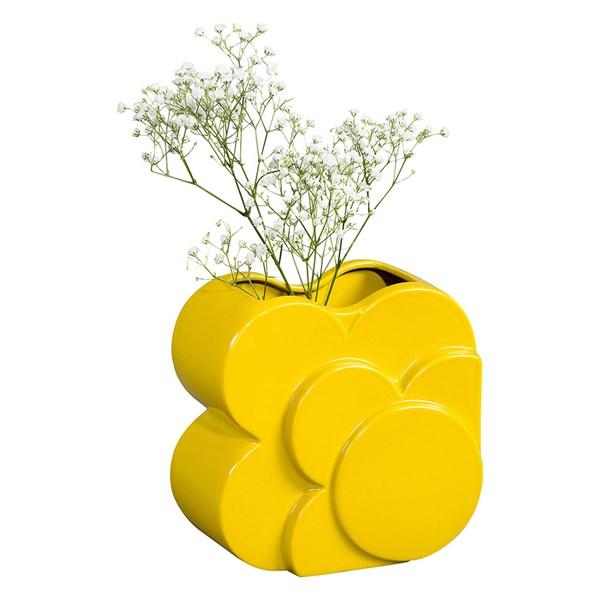 Orla Kiely Ceramic Layered Shadow Spot Vase