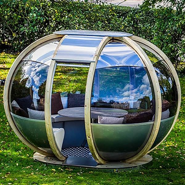 Oval House Garden Pod