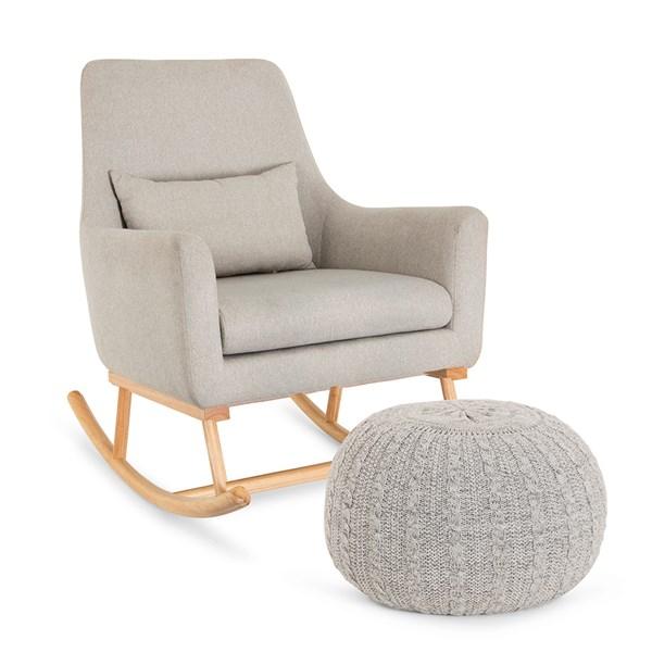 Tutti Bambini Oscar Rocking Chair and Pouffe Set