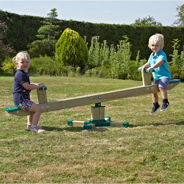 Forest Wooden Spinning Seesaw