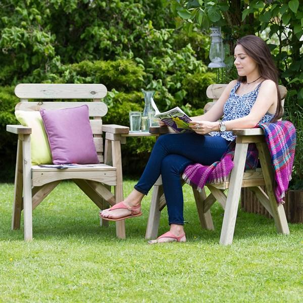 Zest 4 Leisure Wooden Abbey Companion Seat