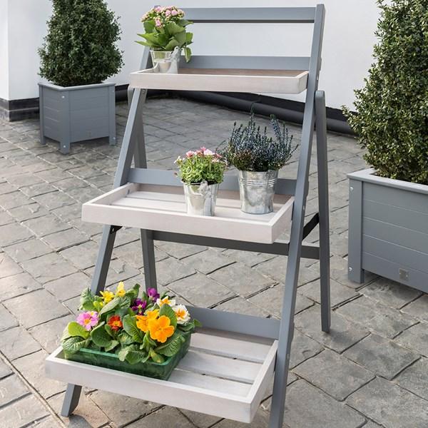 Grigio Folding Pot Stand