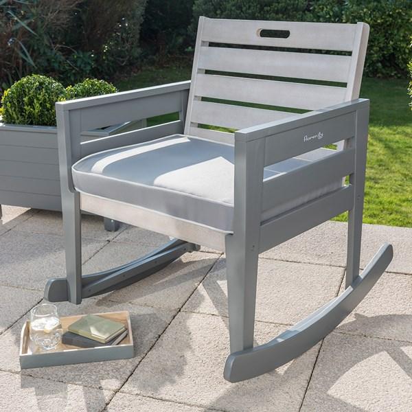 Grigio Garden Rocking Chair