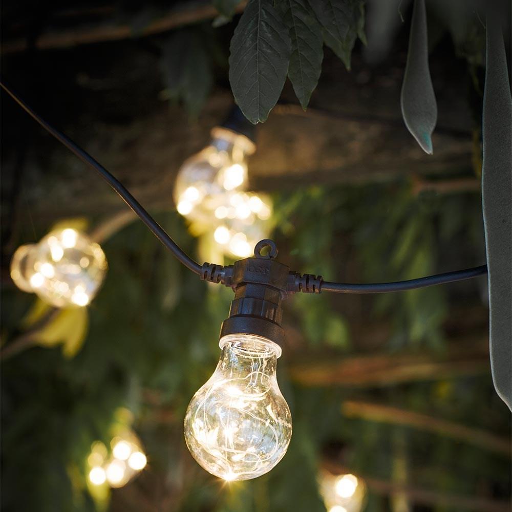Garden Trading Led Festoon Outside Lights With 10 Or 20 Bulbs Garden Trading Cuckooland