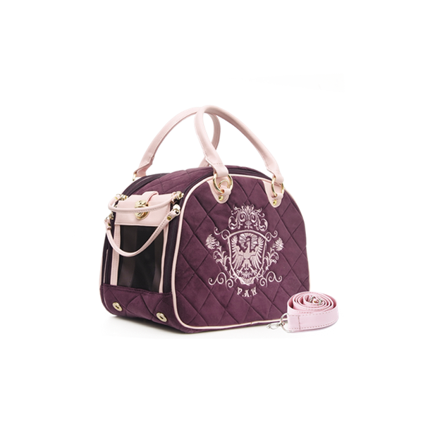 PUPPY ANGEL Royal Paw Carrier Purple