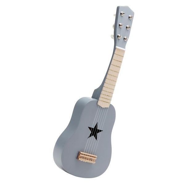 Children's Wooden Toy Guitar in Grey