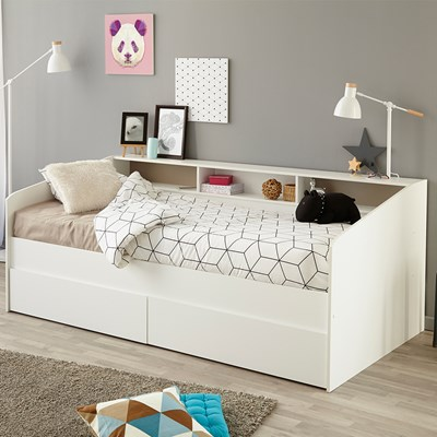 - Parisot Sleep Day Bed With Storage - Kids Avenue Cuckooland