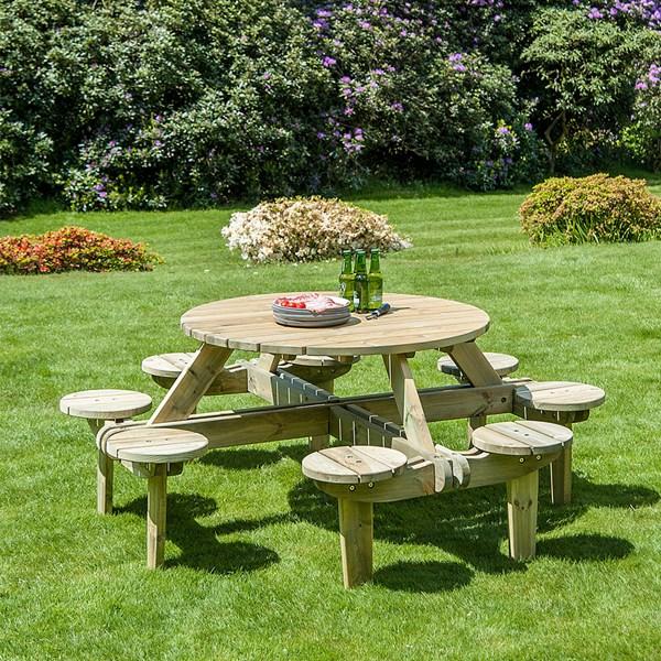 Alexander Rose Pine Gleneagles 8 Seater Table