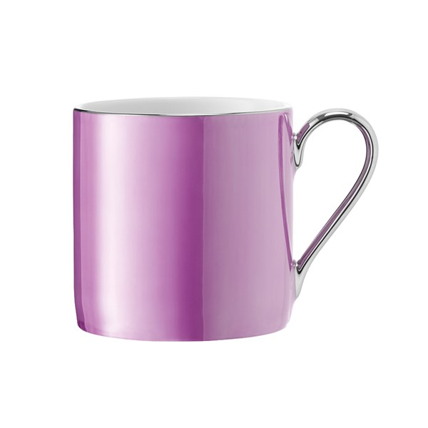 LSA International Polka Mug in Raspberry