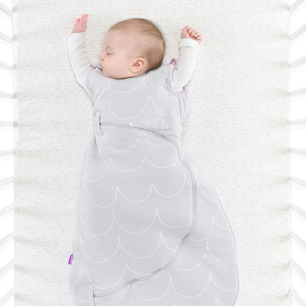 Baby Cot Sleeping Bag with Nappy Changing Zip