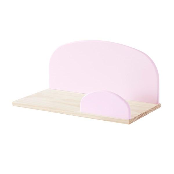 Kiddy Wall Shelf in Old Pink