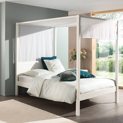 - Pino Four Poster Double Bed - Cuckooland Cuckooland