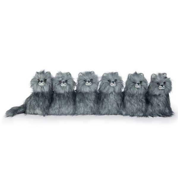 Posh Majestic Maine Coon Kittens Animal Draught Excluder