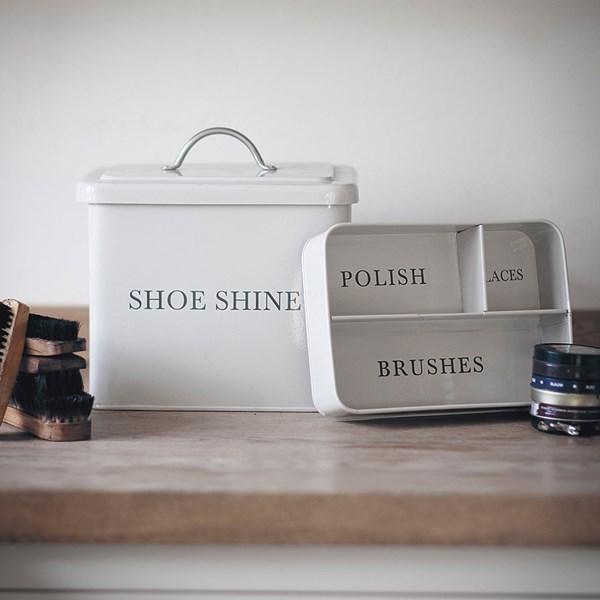 Garden Trading Shoeshine Box