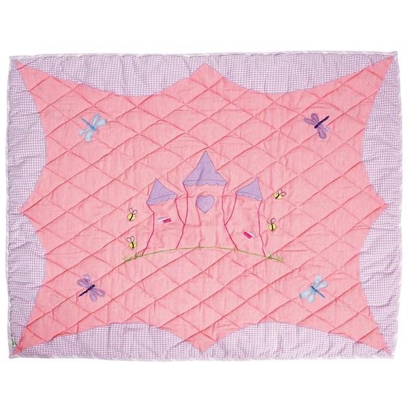 Princess Castle Floor Quilt Blanket