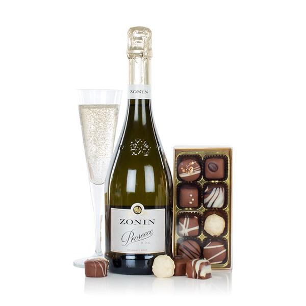 Virginia Hayward Prosecco & Chocolates Gift Hamper