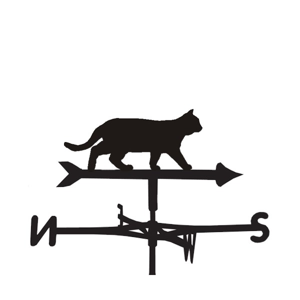 Weathervane in Cat Design