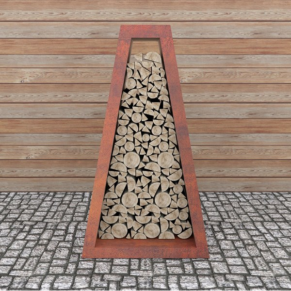Quan Quadro Corten Log Store