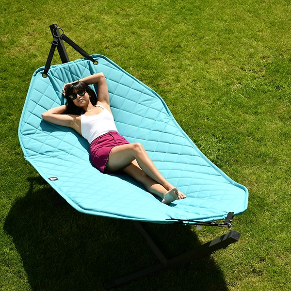 Extreme Lounging B Hammock Swing in Turquoise Blue